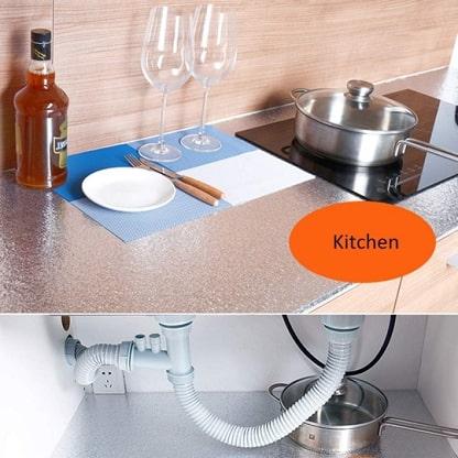 Vinilos adhesivos de cocina resistentes al aceite ALUMAX
