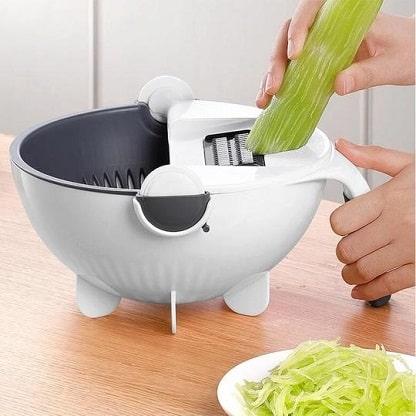 Cortador y rebanador de verduras 7 en 1 + accesorios SORTEX