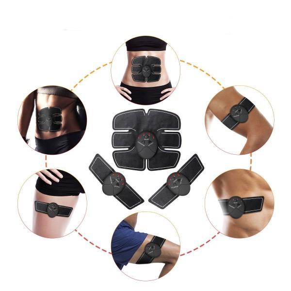 Estimulador abdominal Six Pack para un físico en plena forma