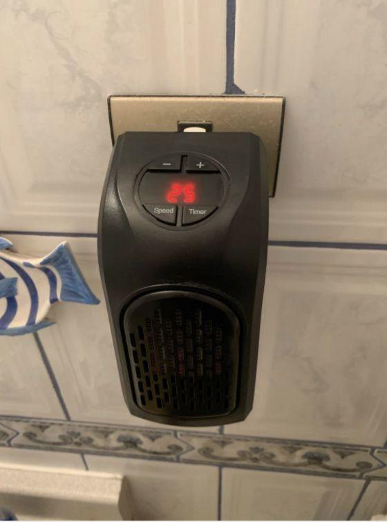 Calefactor termocerámico portatil